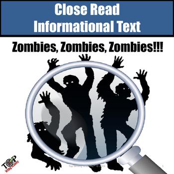 "Halloween Non-Fiction Close Reading ""Zombies"""