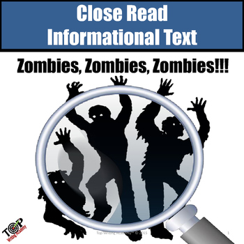 "Non-Fiction Close Reading ""Zombies"""
