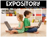 Expository {Non-Fiction Graphic Organizer}