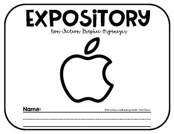 Expository {Non-Fiction Graphic Organizer}