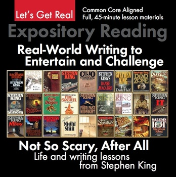 Expository, Non-Fiction Lesson on Modern Issues: Horror Master Stephen King