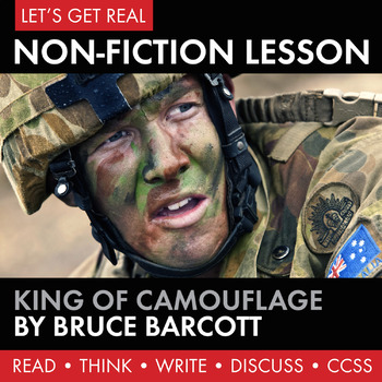 Expository, Non-Fiction Lesson on Modern Issues: King of Camouflage
