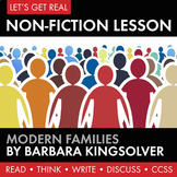 Expository, Non-Fiction Lesson on Modern Issues: Traditional Families?