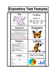 Expository (Non-Fiction) Text Feature Posters, Foldable and Quiz