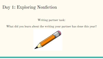 Expository Nonficiton Writing Unit