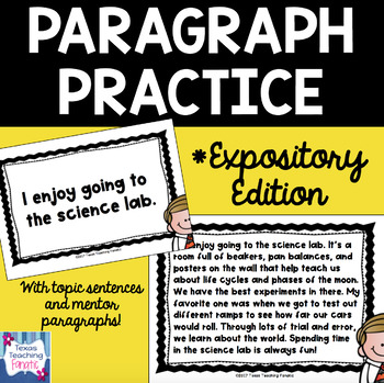Expository Paragraph Practice