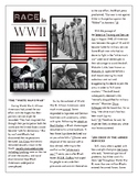 Expository Passage and STAAR-Style Question Stems - Race in WWII
