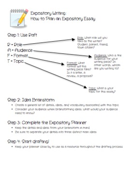 Expository Planner and Planning Guide