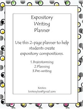 Expository Planning Forms