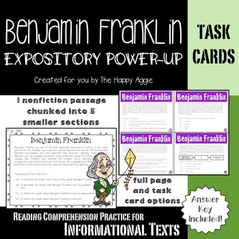 Expository Power-Up: Benjamin Franklin (Level 1)
