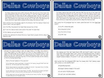 Expository Power-Up (Task Cards) Bundle #1