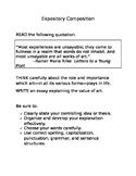 Expository Prompt STAAR Format