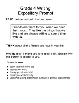 expository writing powerpoint 4th grade