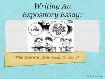 Expository Review Keynote