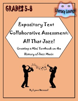 Expository Text Collaborative Project:  All That Jazz!  Nonfiction Book Creation