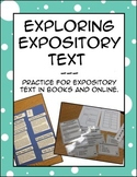Expository Text Exploration