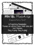 Expository Text Mix Up Match Up - Easy Prep ELA Center!