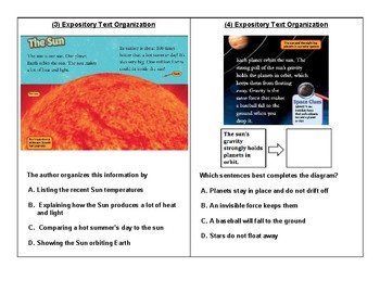 Expository Text Organization 4.11(C) Cause and Effect, Sequence, and Comparison