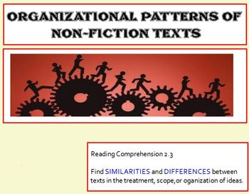 Expository Text: Patterns of Organization STUDENT NOTES