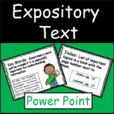 Expository Text Features Power Point