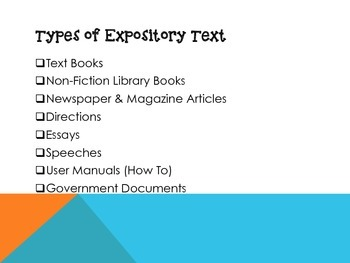Expository Text PowerPoint