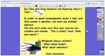RI5.6 RI5.7 RI5.9 Integrating Information Multiple Sources Research Flipchart