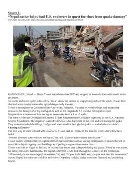 Expository Text Set: Nepal Earthquake