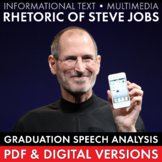 Steve Jobs & Real World Rhetoric Non-Fiction Informational Text Multimedia CCSS