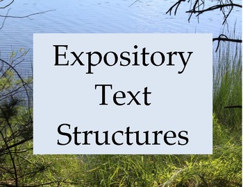 Expository Text Structure Posters