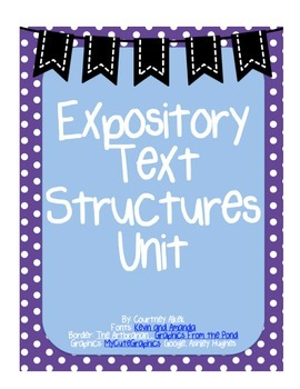 Expository Text Structures Unit