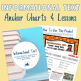 Expository Text, Text Features, and Main Idea Interactive Notebook Pages