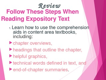 Expository Text in Reading