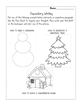Expository Winter Writing