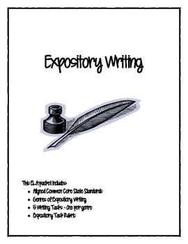 PARCC/CC Aligned Expository Writing Packet