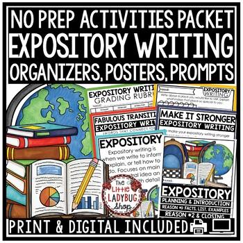 Expository Writing Unit Bundle