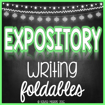 Expository Writing