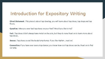 Expository Writing 5th grade