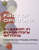 Expository Writing Activity: Fact vs. Opinion