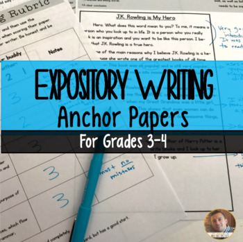 Expository Writing Anchor Papers: Student-Led Editing for Grades 3-4