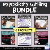 Expository Writing BUNDLE: Introductions, Body Paragraphs,