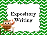 Expository Writing -  Common Core Aligned