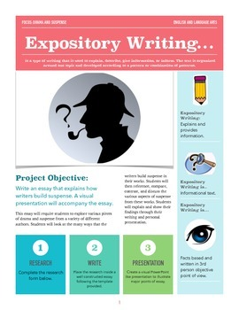 Expository Writing: Drama and Suspense
