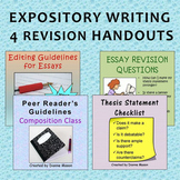 Expository Writing 4 Revision Handouts