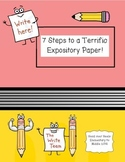 Expository Writing Guide: 7 Steps to a Terrific Expository Paper