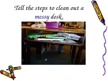 Expository Writing - How to Clean Desk