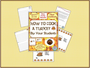 Expository Writing How to Cook a Turkey Common Core Aligned