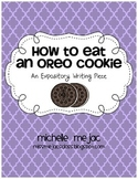 Expository Writing:  How to Eat an Oreo Cookie