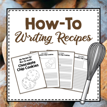 Expository Writing: How-to Write Recipes