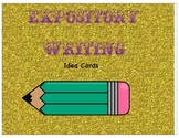 Expository Writing Idea and Word Cards