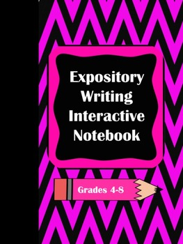 Expository Writing Interactive Notebook